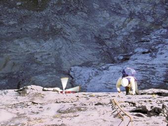 Vie di roccia le scalate delle guide for Cabine di roccia bianca