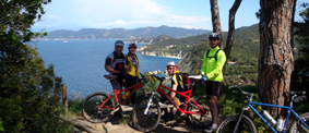 Isola d'Elba in mountain bike